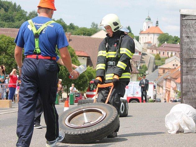Šumavský hasič v Plánici 2014
