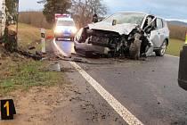 Nehoda u Malechova.