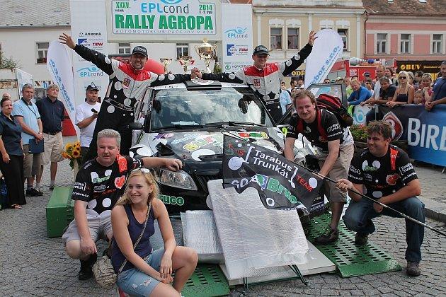 Cíl Rally Agropa