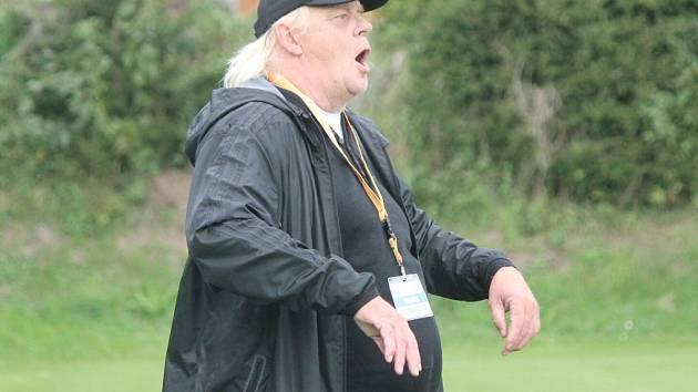 Trenéra Karla Krejčího je při zápasech hodně slyšet.