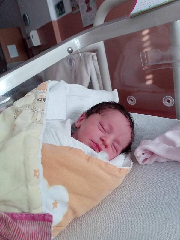 Nela Pošarová zRoupova se narodila vklatovské porodnici 26. července v15:15 hodin rodičům Pavlíně a Miroslavovi. Tatínek nechyběl u porodu. Pohlaví svého prvorozeného miminka (3070 g, 48 cm) věděli rodiče dopředu.