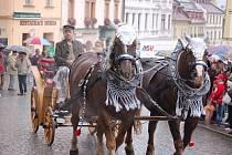 Svatováclavská jízda v Klatovech.
