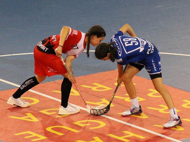 PG 2020 - B14: FAT PIPE Florbal Chodov - Sport Club Klatovy - finále vUNYP aréně (8:5).