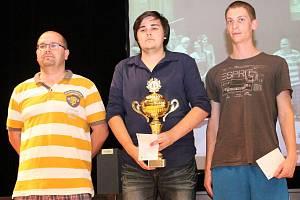 Vyhlášení 23. ročníku šachového turnaje O pohár města Klatov – Unileasing Open.