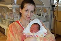 Veronika Groszová s dcerou Veronikou, která se narodila na Štědrý den.