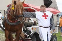 Středověký den v Zahorčicích u Strážova
