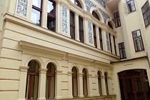 Atrium kolínské radnice.