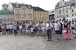 Demonstrace 11. června 2019 v Kolíně