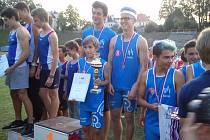 Žáci a žákyně Kolína obsadili na republikovém šampionátu shodně třetí místo.