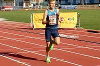 Kolínský atlet Roman Pazdera.