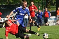 Z utkání FK Kolín - Chrudim (2:2).