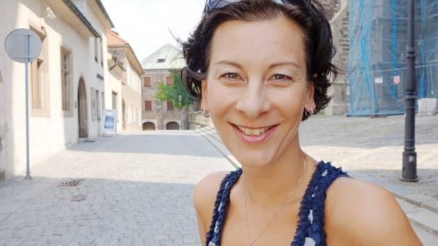 Organizátorka Otevřené ulice Hana Morová.