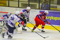 Hokejisté Kolína prohráli s Havlíčkovým Brodem 2:4.