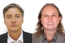 Autoři knihy Hrdinové Petr Luňák a Marek Pečenka.