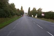 Místo, kde 30. září došlo k dopravní nehodě