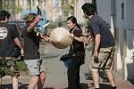 Koledníci v ulicích Kolína