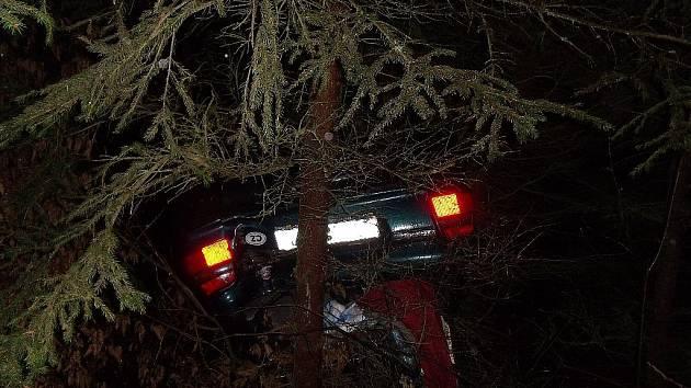 Nehoda poblíž Vlkančic