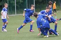 Z utkání FK Kolín U12 - Svitavy (13:5).