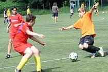 Kolínské sportovní dny 2015 - fotbal.