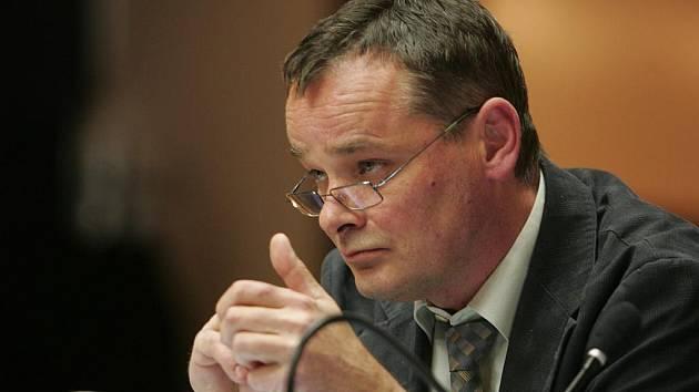 Místostarosta Jan Pospíšil na ustavujícím zasedání kolínského zastupitelstva, 9. 11. 2010