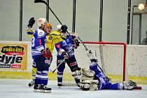 Z utkání II.NHL Břeclav - Kolín (5:3).