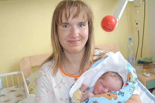 Pětiletý Pepča a sedmiletá Kristýna očekávali společně s tatínkem Josefem doma v Dolních Chvatlinách brášku Radka Šedivého, který se narodil 27. června s váhou 3 630 gramů a výškou 53 centimetry, a maminku Hanu.
