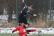 Z přípravného utkání FK Kolín - Pardubice B (3:3).
