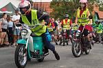 Ze závodu malých motocyklů Kozojedský fichtl 2021.