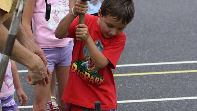 Olympiáda pro děti ve Vrátkově