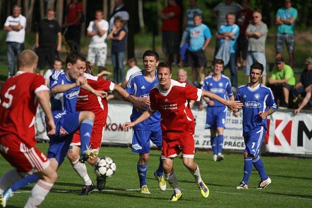 Z utkání FK Kolín - Převýšov (2:0).