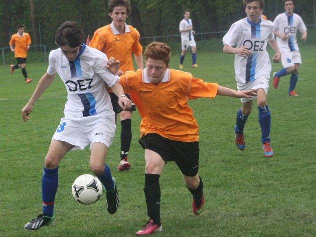 Z utkání FK Kolín U15 - Letohrad (3:0).