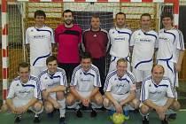 Kolínští futsalisté mají důvod k úsměvu. Právě vyhráli v Mladé Boleslavi a díky tomu se radují z postupu do divize.