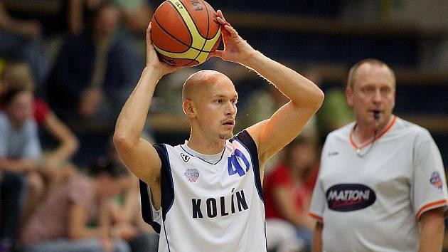 Z přátelského utkání Kolín - Jindřichův Hradec (103:44)