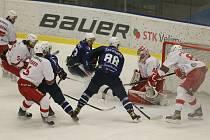Hokejové utkání mezi Kolínem a Slavií Praha se hrálo ve středu 17. února.