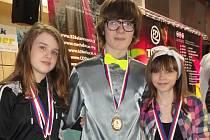 Do Kolína tak zástupci klubu přivezli jedno zlato, dvě stříbrné medaili a jednu bronzovou
