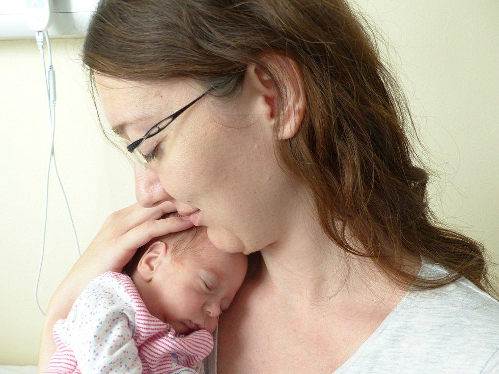 Sára Kačerovská se narodila 12. července 2021 v kolínské porodnici, vážila 1120 g a měřila 35 cm. V Lošanech se z ní těší sestřičky Eliška (10), Johanka (7) a rodiče Martina a Martin.