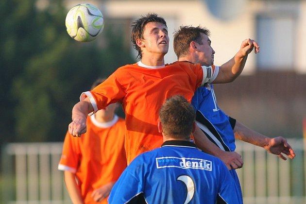 Z utkání Býchory - FK Kolín B 1:1