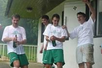 Fotbalisté Zásmuk se poprávu radují. Po delší době si opět zahrají I. B třídu.