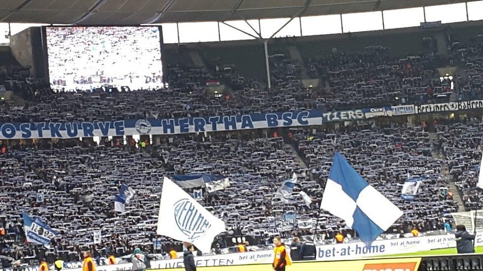 Stadion Herthy Berlín.