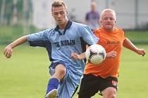 Z utkání Polepy - FK Kolín B (4:5).