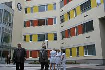 Otevírání nového dětského pavilonu Oblastní nemocnice Kolín