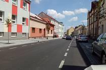 Pražská ulice v Kolíně. Archivní foto z července 2019.