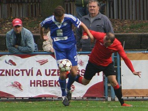 Z utkání Kolín - Chrudim (3:1).