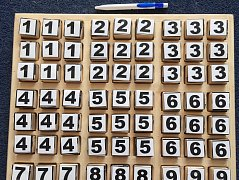 Sudoku pro zrakově postižené