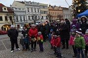 Závěr Tříkrálové sbírky se uskutečnil první lednovou neděli na kolínském Karlově náměstí.