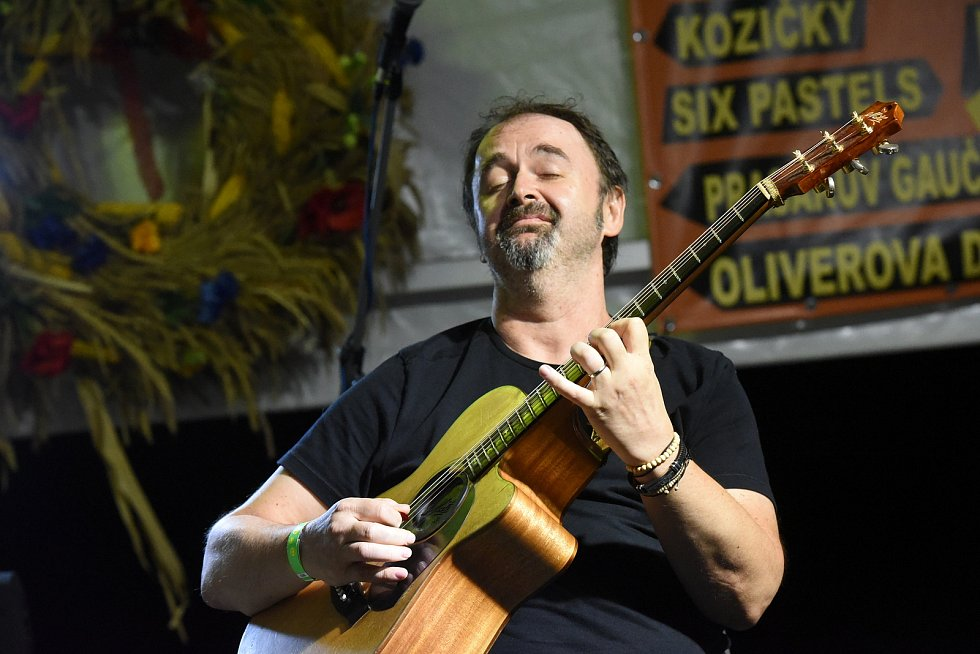 Z festivalu Dožínky, který se konal ve Velkém Oseku.