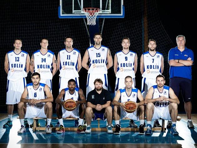 Basketbalový tým Kolína.
