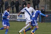 Z utkání FK Kolín - Frýdek/Místek (0:3).