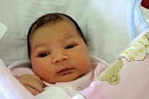 Barbara Ikrová se rozplakala 9. listopadu 2015 s mírami 50 centimetrů a 3190 gramů. Maminka Barbora a tatínek Tomáš bydlí se svou prvorozenou v Kolíně.