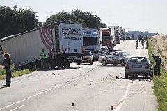 Vážná nehoda u Rostoklat . 28.6. 2011